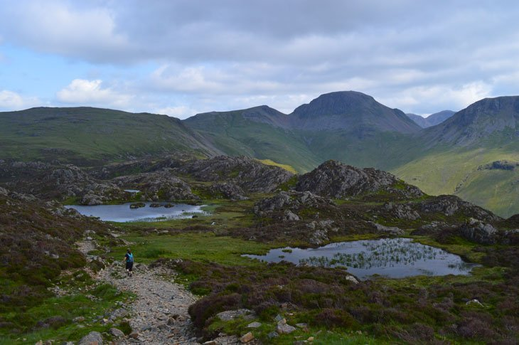 tarns on haystacks
