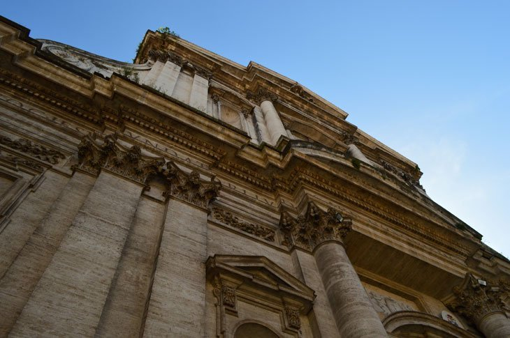 A Perfect Day in Rome - The Church of Saint Ignatius of Loyola