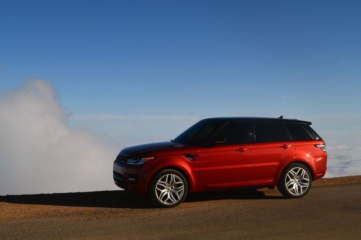 The New Range Rover Sport To Take on Pikes Peak