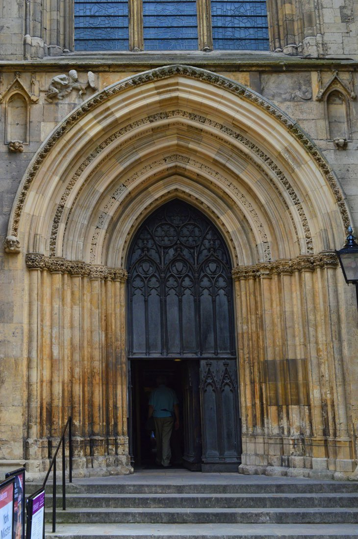 DSC 0230B1 Around and Up York Minster