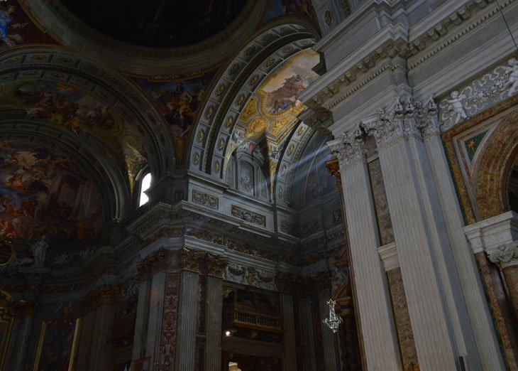 Rome – The Church of Saint Ignatius of Loyola