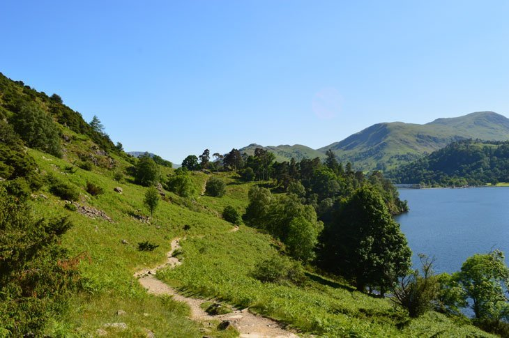 Ullswater – Walking Beside This Most Beautiful Lake