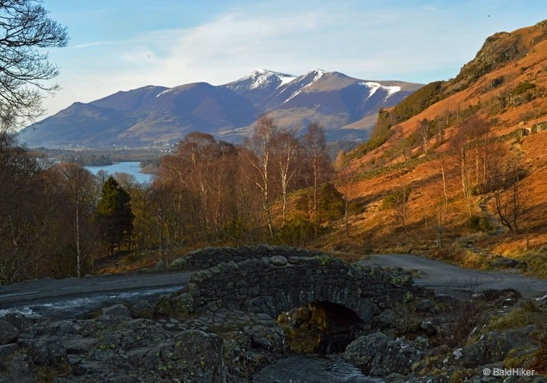 Ashness Bridge and the Surprise View above