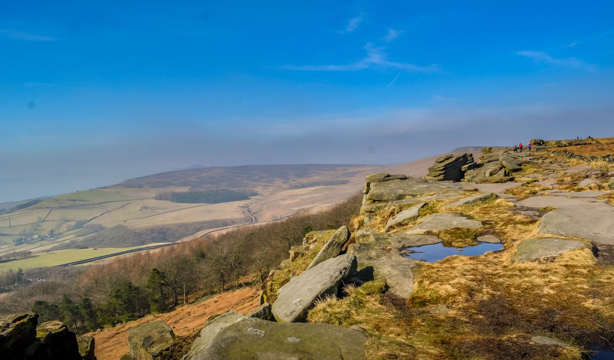 Stanage Edge and Robin Hoods Cave – A Stroll in the Peak District