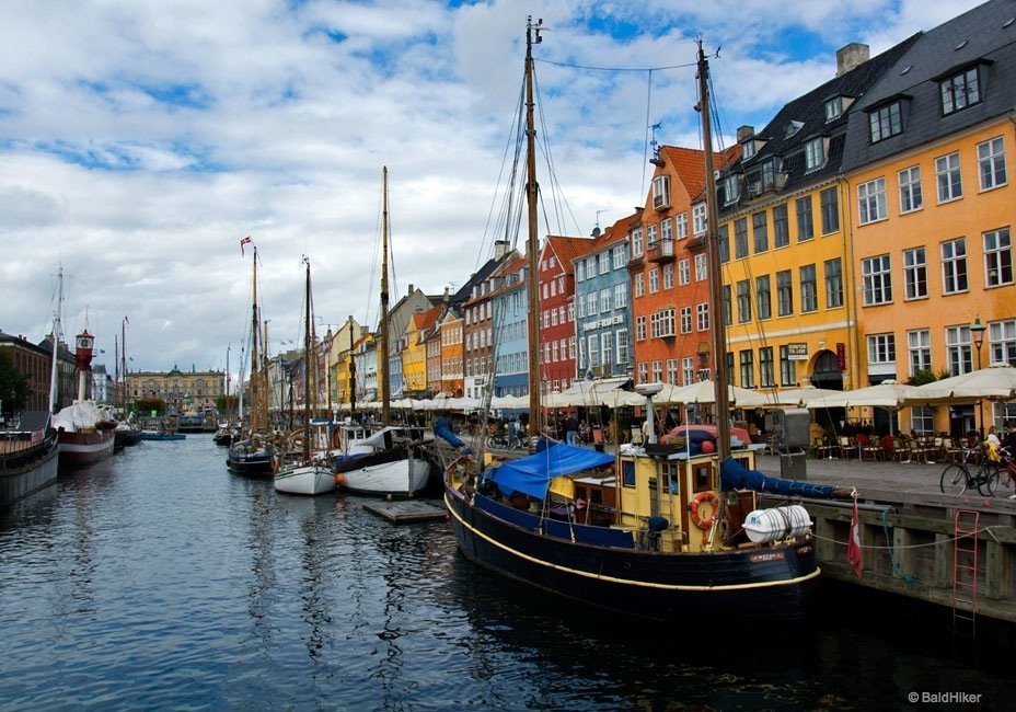 colourful visit to Nyhavn in Copenhagen