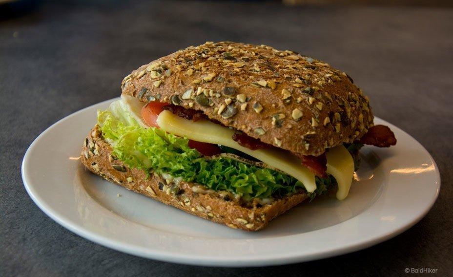 a sandwich in copenhagen
