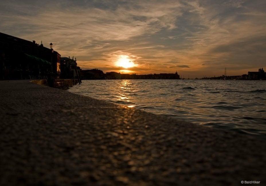 A Venice sunset on the Island of Giudecca 1