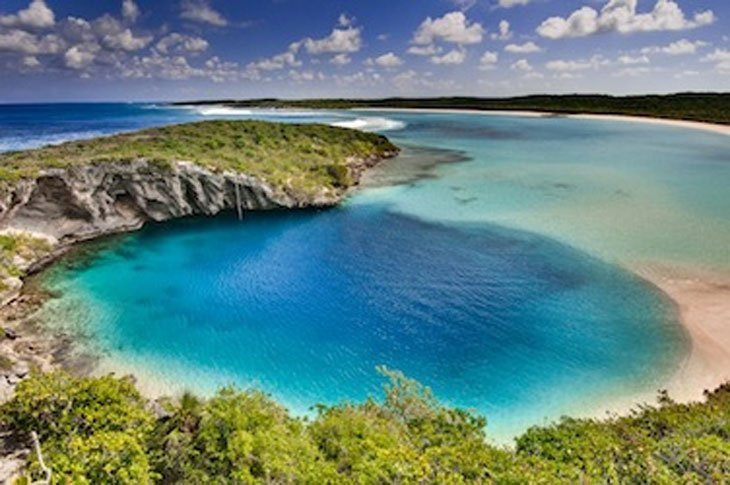 DeansBlueHole Lets Take a Break in the Ocean