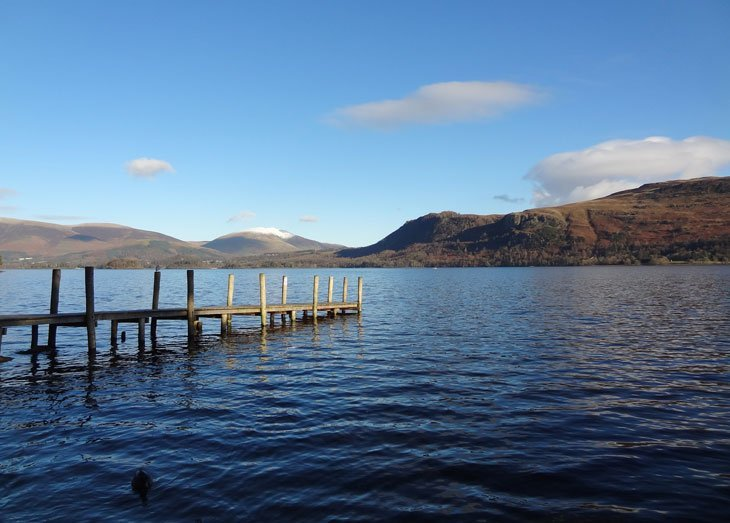 Derwentwater_14 Derwentwater: A Circuit Walk In The Winter Sun