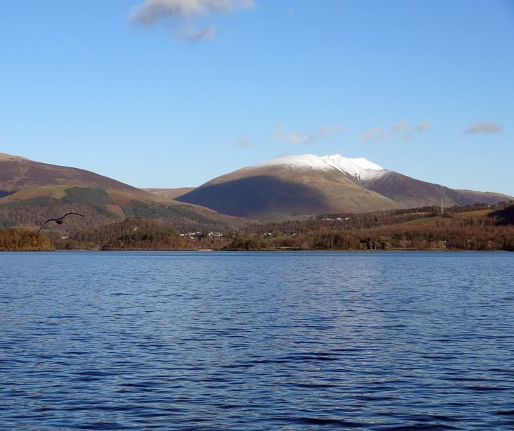 Derwentwater: A Circuit Walk In The Winter Sun