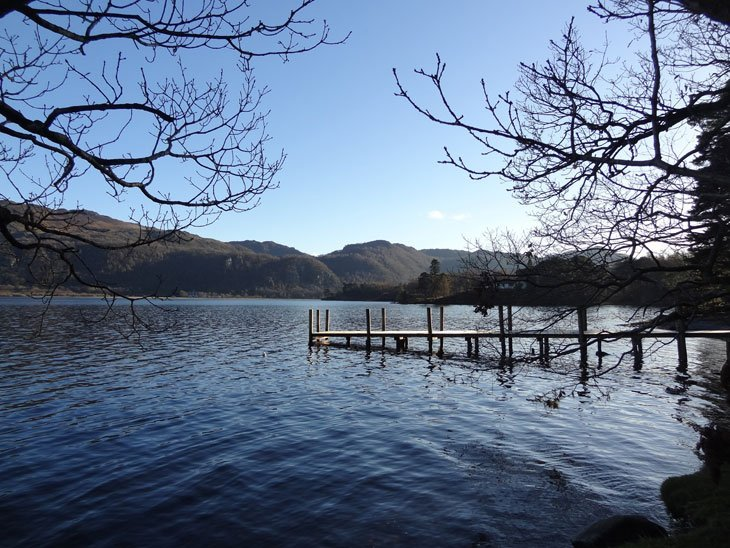 Derwentwater 16 Derwentwater: A Circuit Walk In The Winter Sun