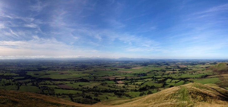 Dufton_Pike_Panorama Social Walks