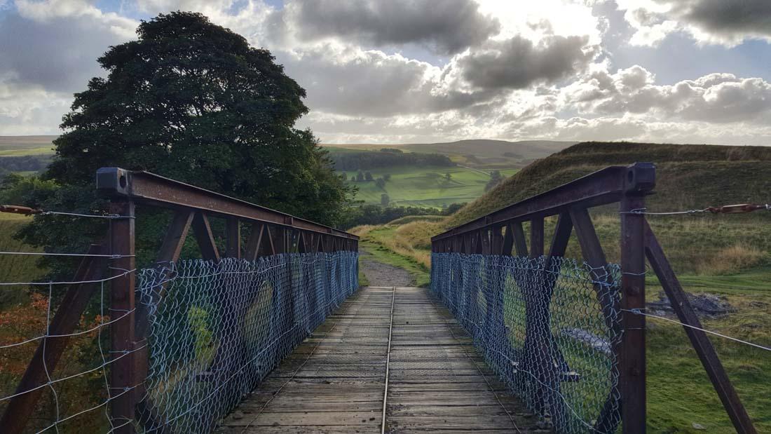 old mining bridge