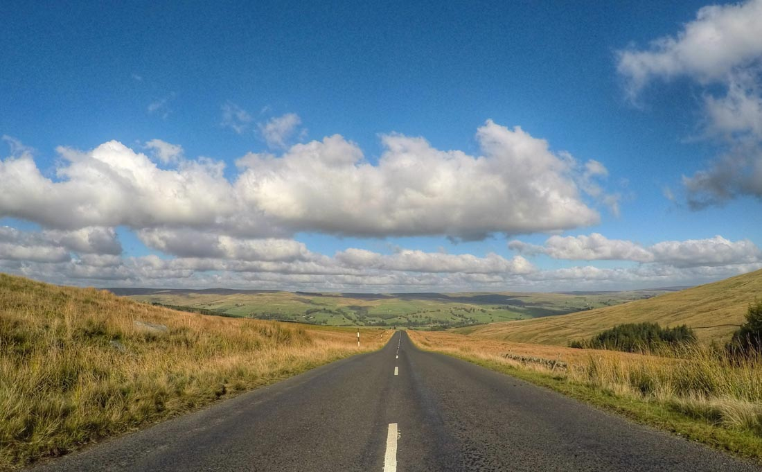 the road to Weardale