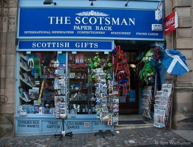 The scotsman shop edinburgh