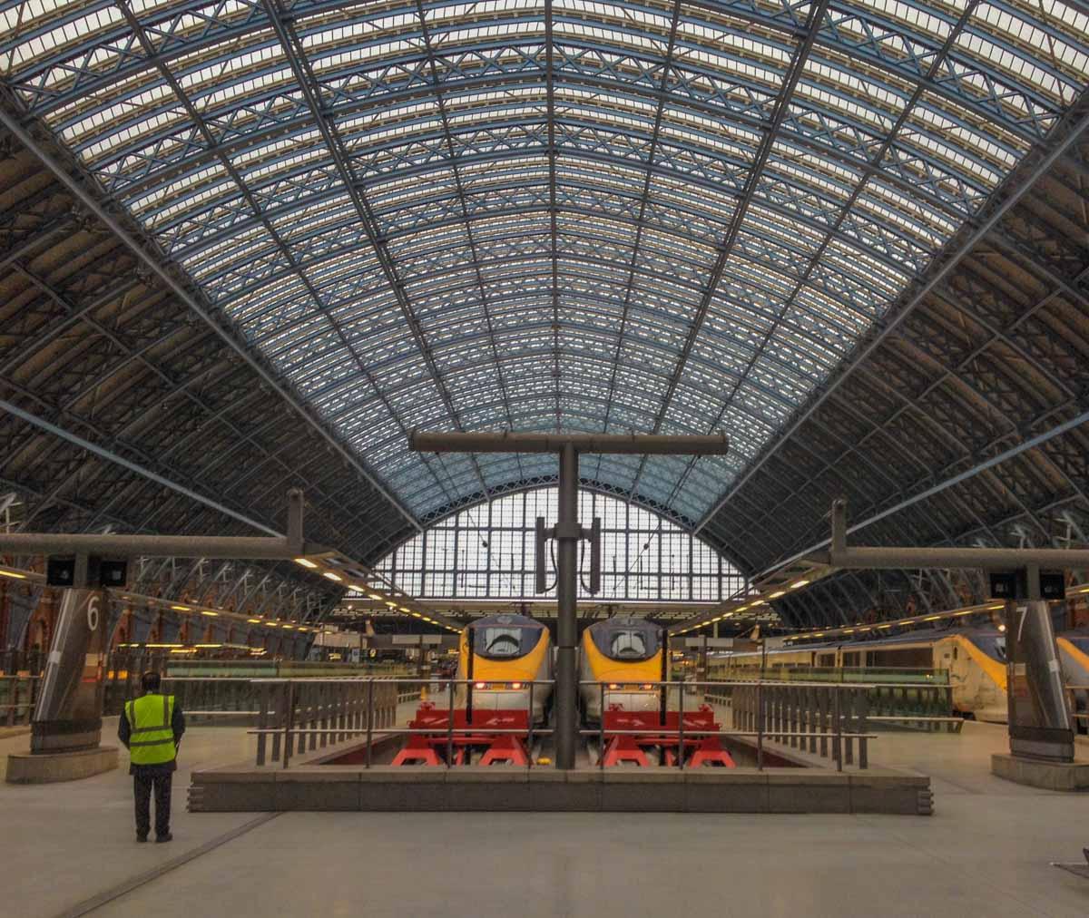 St Pancras International - Gateway to European Adventure