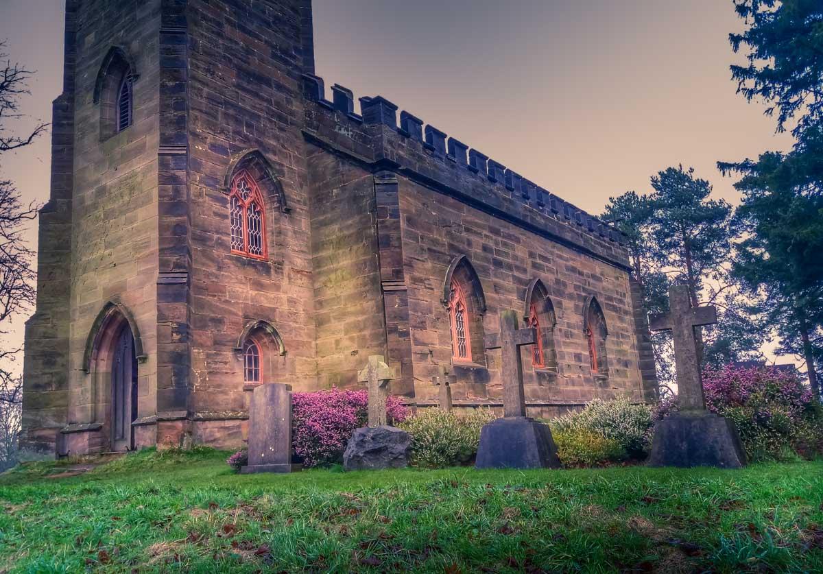 Family-church_ Calke Abbey Ancient Parkland Walks Through the Seasons
