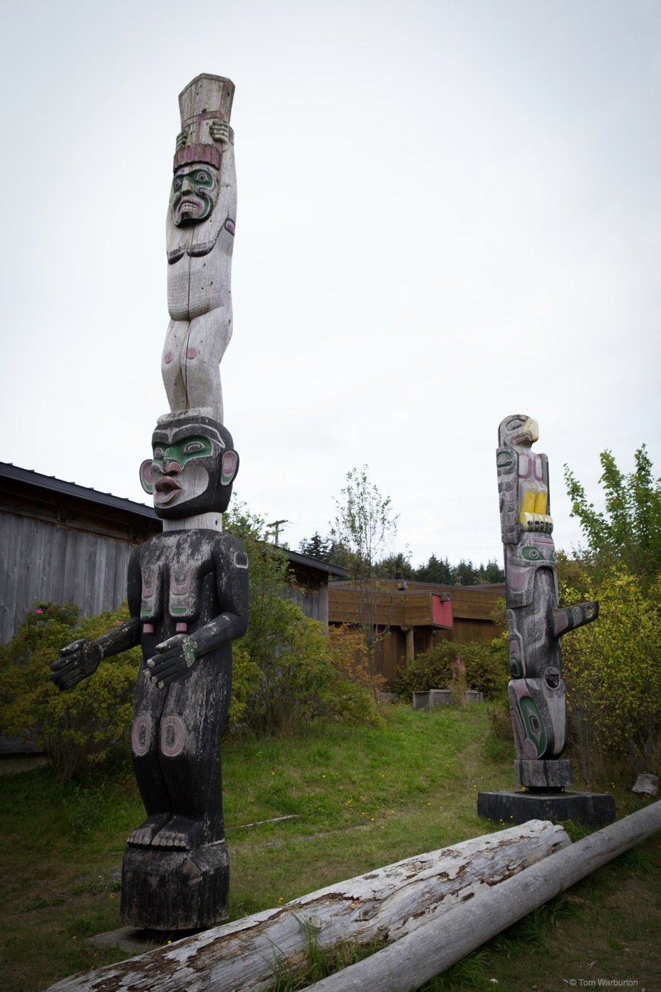 Totem Poles of Alert Bay and the U'mista Cultural Centre, Canada