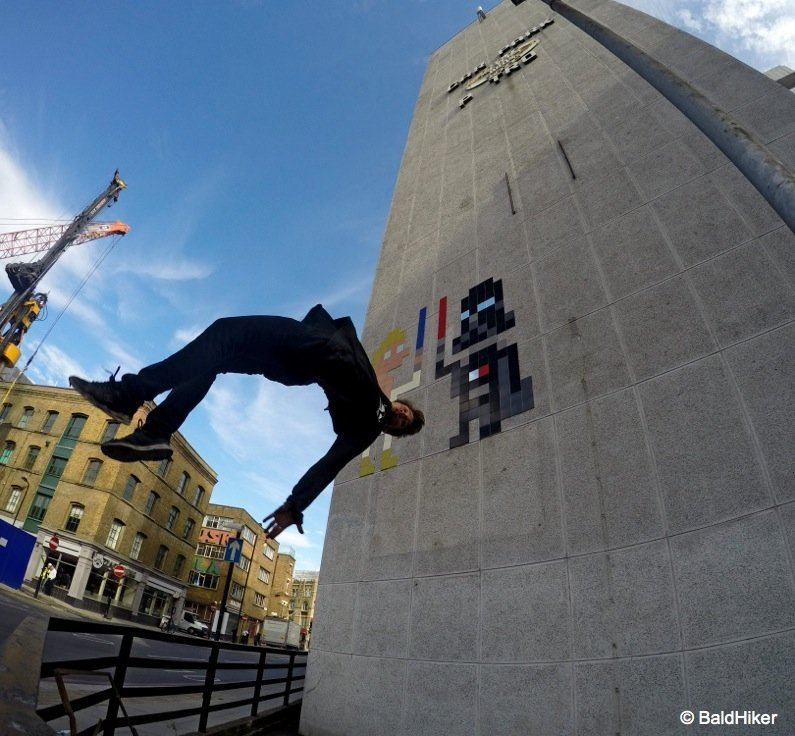 Action in London with the GoPro Hero4 1
