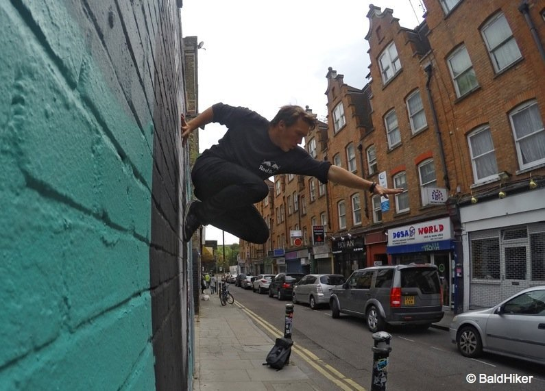 Action in London with the GoPro Hero4