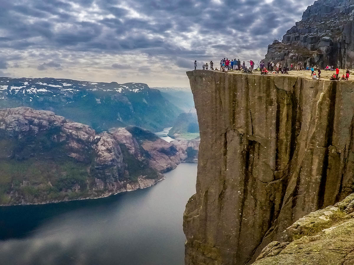 GOPR2459 Norway - Hiking to Preikestolen (Pulpit Rock)