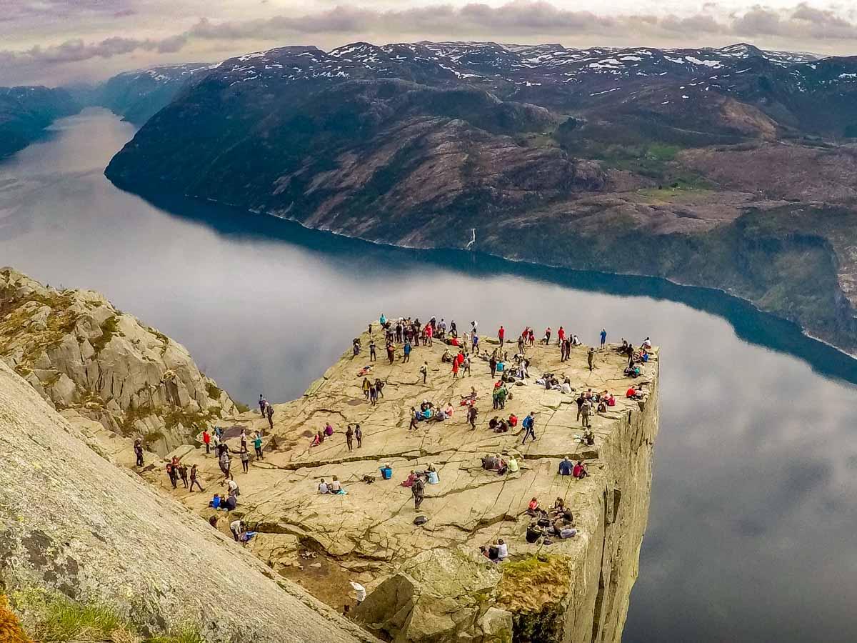 GOPR2463 Norway - Hiking to Preikestolen (Pulpit Rock)
