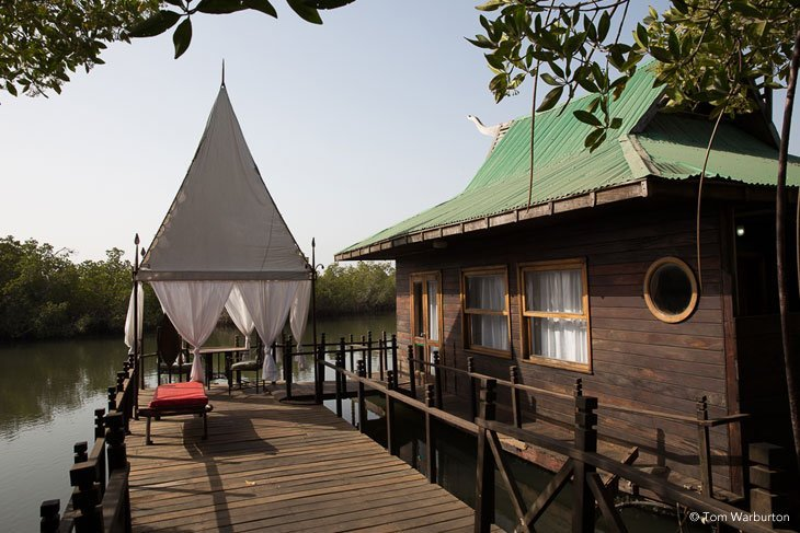 Gambia – The Floating Paradise of The Mandina Lodges