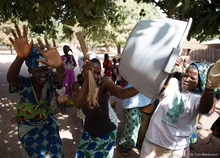 Gambia 20130427 00119 Gambia   A Village Kumpo Dance