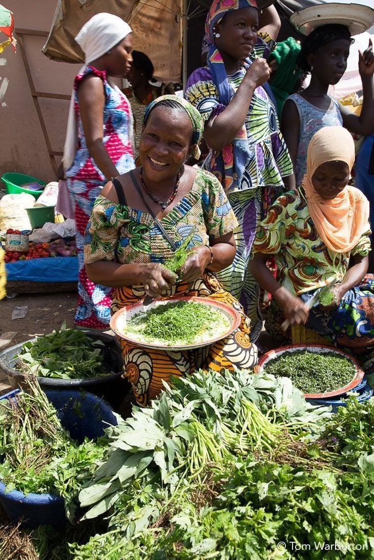 happy stall holders Birkama Market