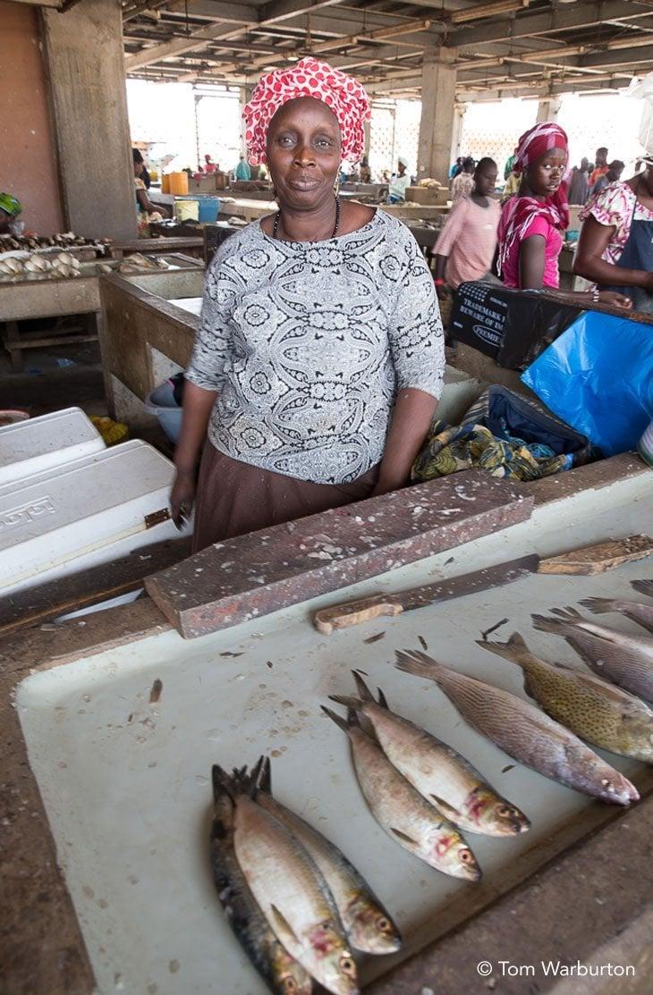 stall holder Birkama Market