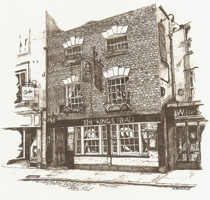 Geoffs-drawing Wells, Somerset – A Little City With A Big History