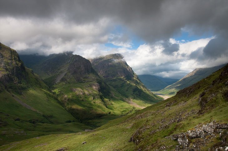 GlenCoe Beautiful Britain – A Glen, Lake and a Beach