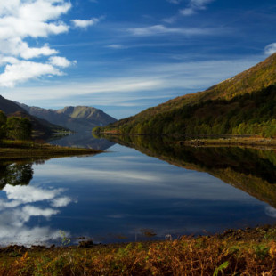 Beautiful Britain – A Glen, Lake and a Beach