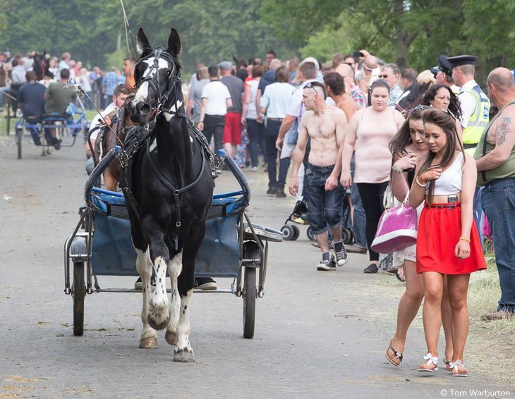 Appleby Horse Fair – Trotting and Racing The Flashing Lane