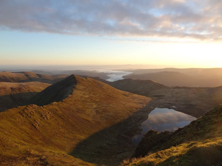 a new morning on Helvellyn
