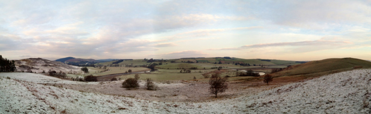A Frosty Drive Up North…