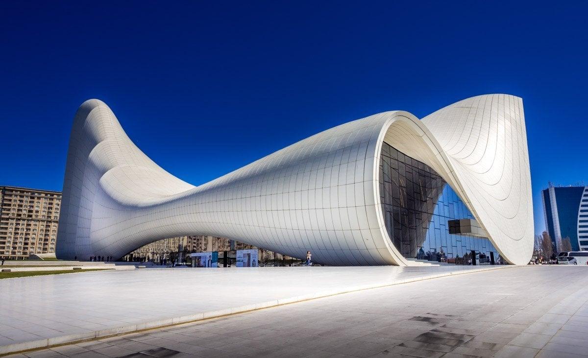 Azerbaijan - The Heydar Aliyev Centre of Baku 1