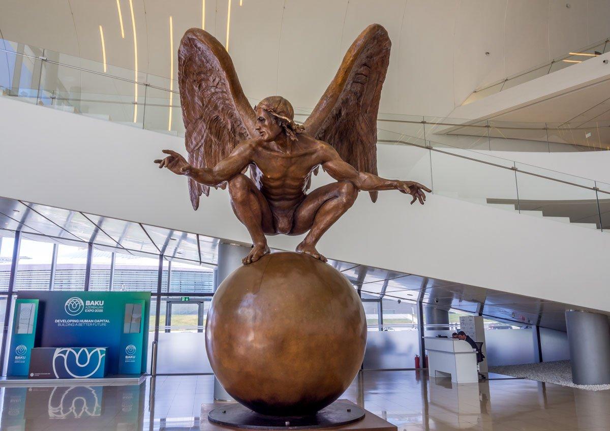 Heydar-Aliyev-Center-baku-10 Azerbaijan - The Heydar Aliyev Centre of Baku
