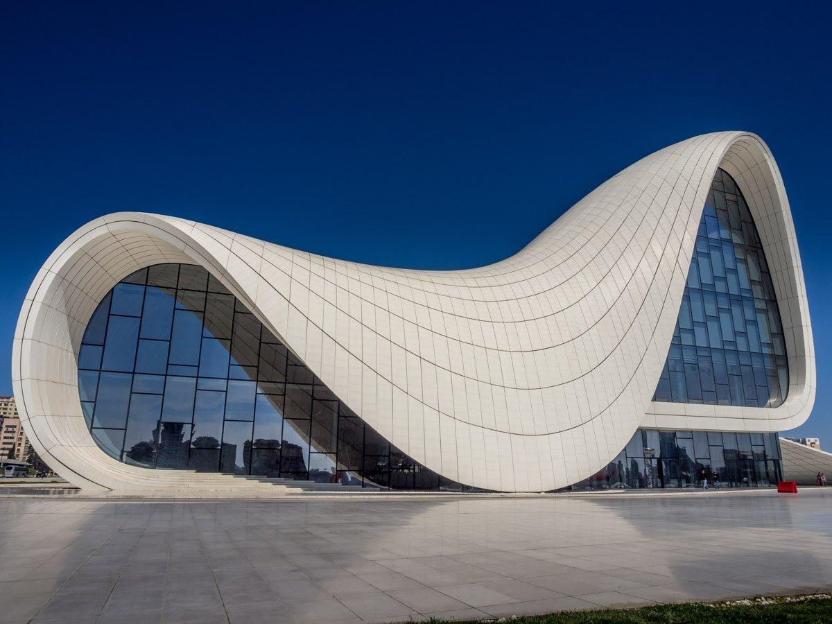 Heydar-Aliyev-Center-baku-11 Azerbaijan - The Heydar Aliyev Centre of Baku
