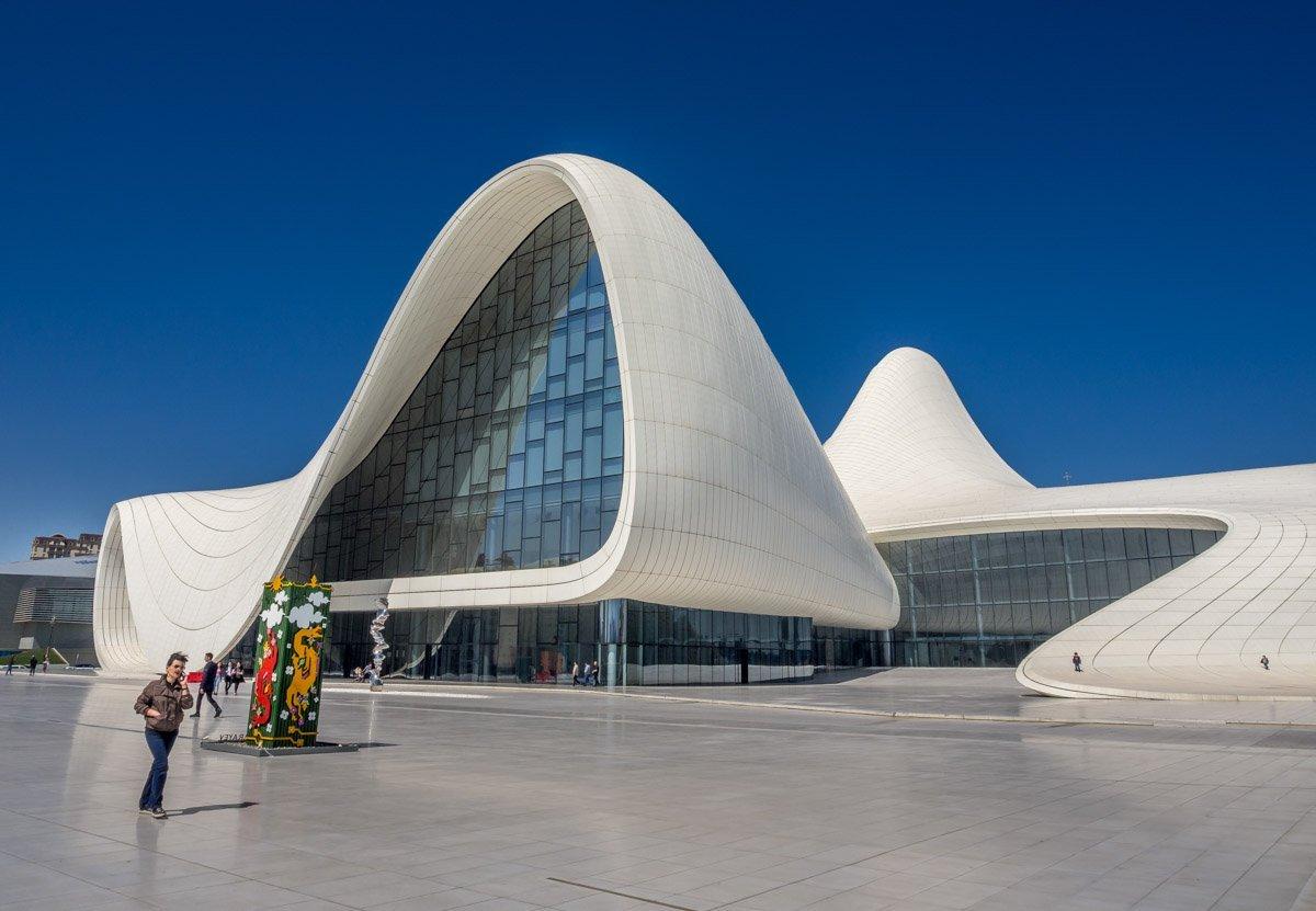Heydar-Aliyev-Center-baku-12 Azerbaijan - The Heydar Aliyev Centre of Baku