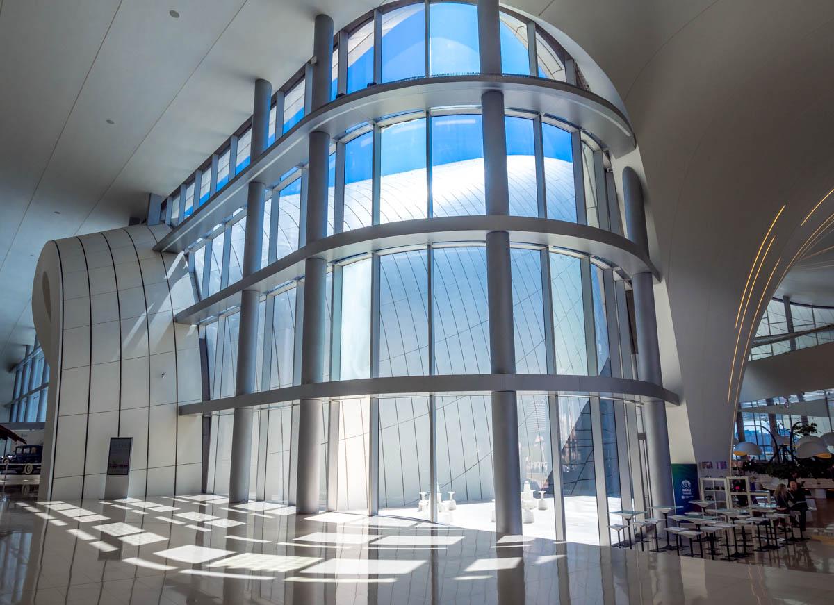 Heydar-Aliyev-Center-baku-2 Azerbaijan - The Heydar Aliyev Centre of Baku