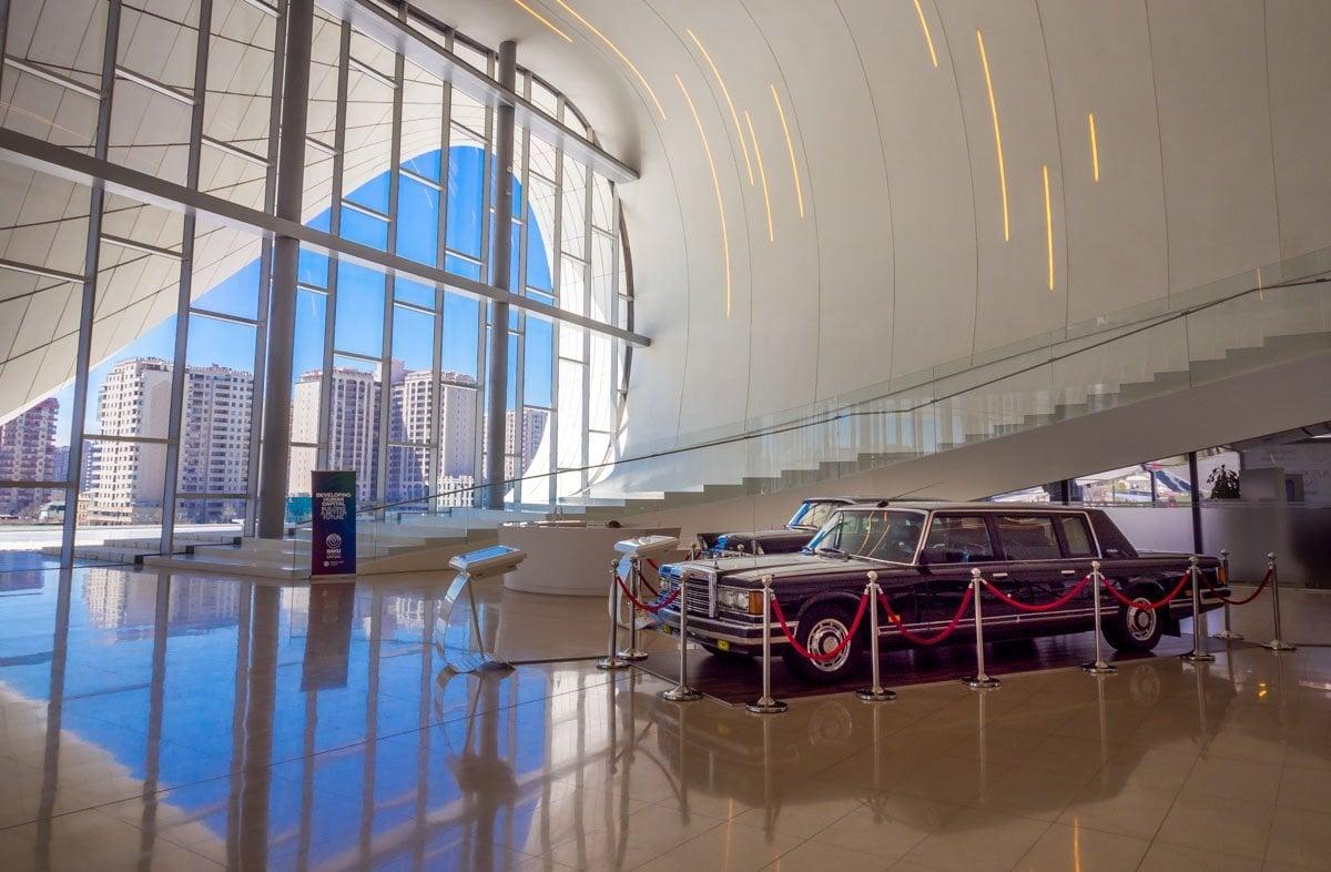 Heydar-Aliyev-Center-baku-4 Azerbaijan - The Heydar Aliyev Centre of Baku