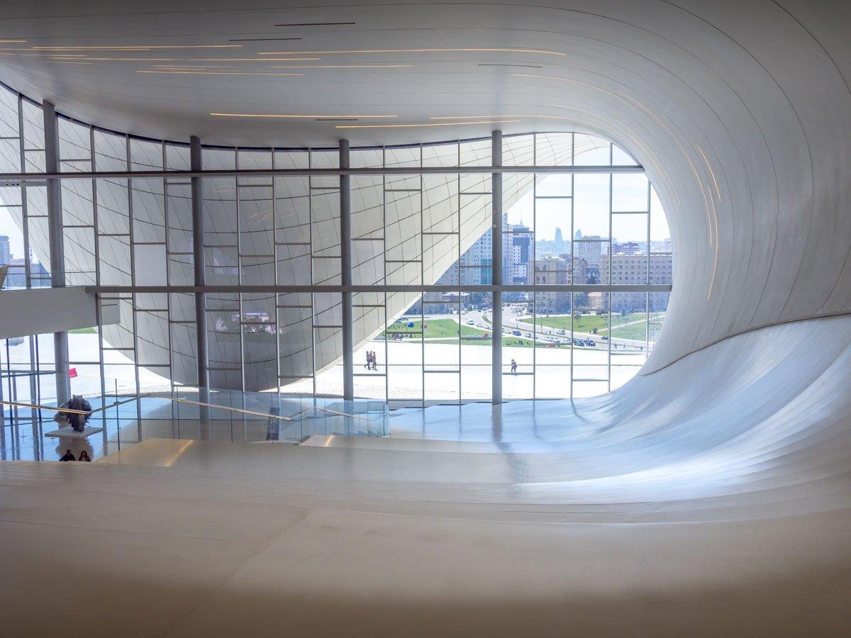 Heydar-Aliyev-Center-baku-6 Azerbaijan - The Heydar Aliyev Centre of Baku