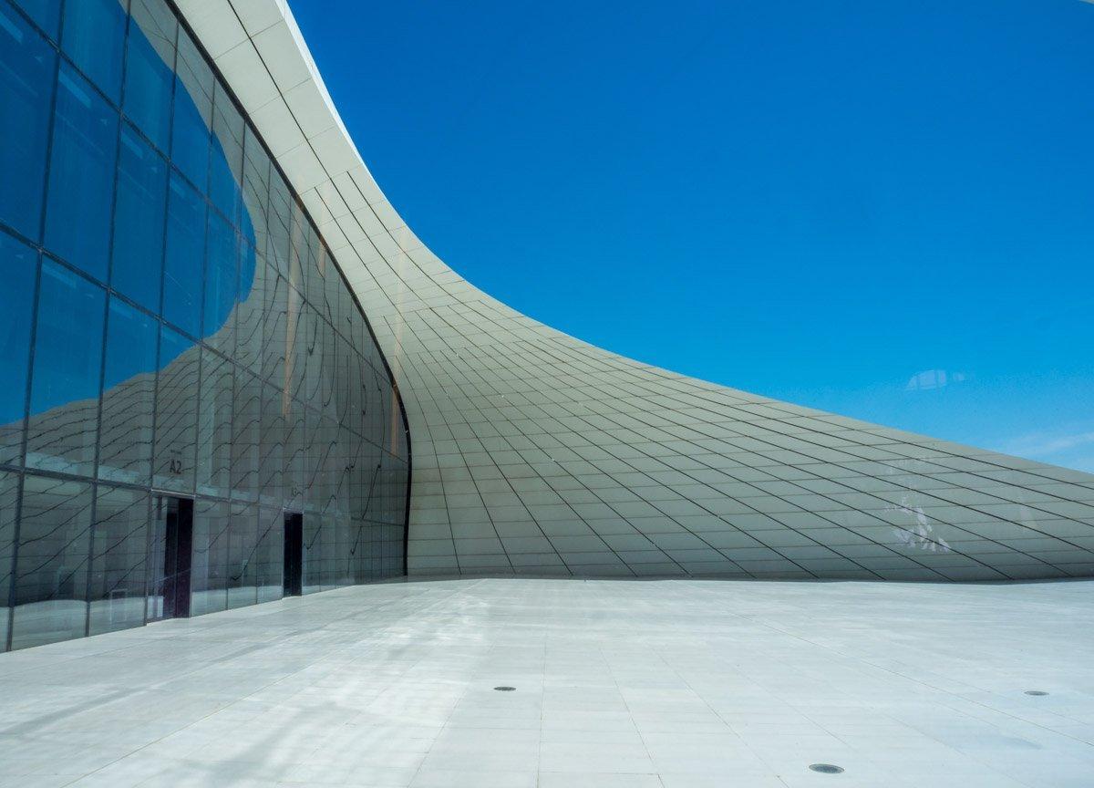 Azerbaijan - The Heydar Aliyev Centre of Baku