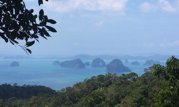 Hiking 'Dragon Crest' Mountain in Thailand