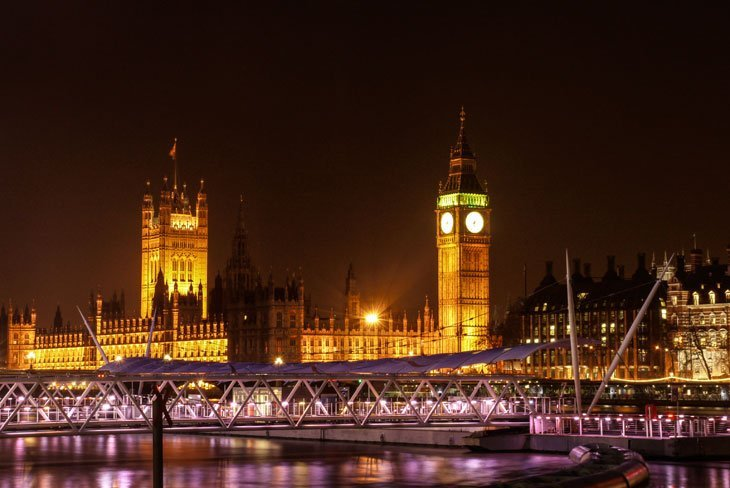 Houses-of-Parliament-at-night Intoxicated By London With Marianne Knight