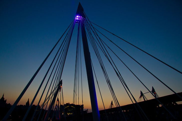 Hungerford Bridge Intoxicated By London With Marianne Knight