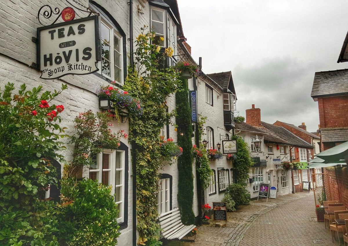 Stafford – Church Lane and The Soup Kitchen