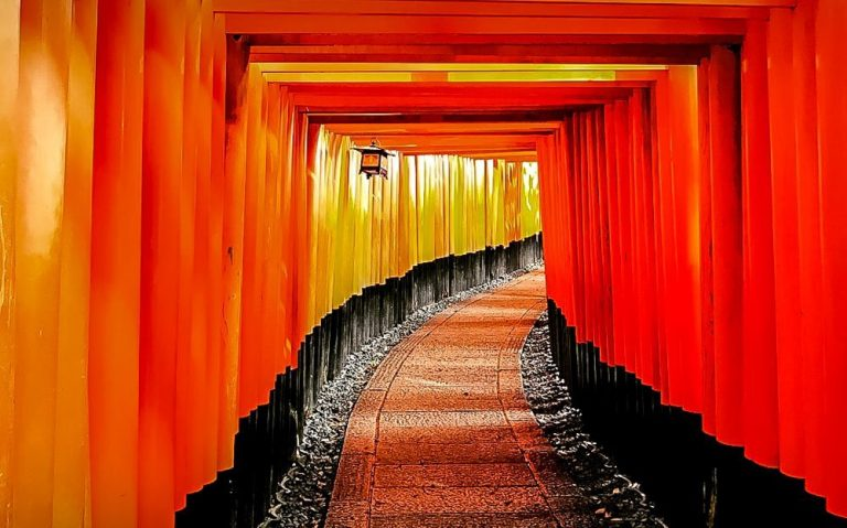 A Day in Kyoto, Japan