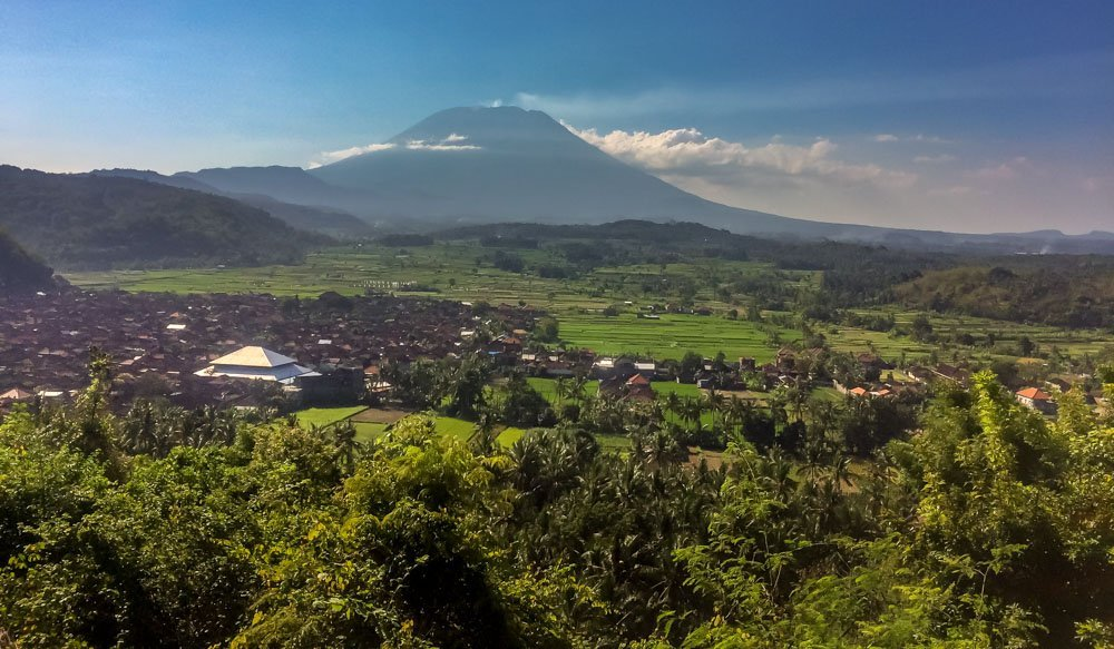 view of Mount Agung, Bali